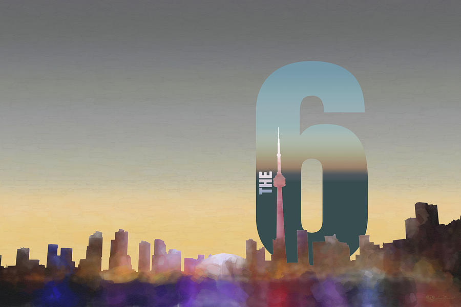Toronto Skyline - The Six Photograph by Serge Averbukh