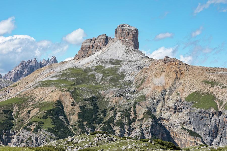 Dolomites Photograph - torre dei scarperi - Dolomiti by Joana Kruse