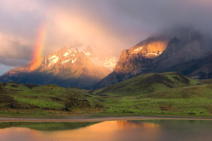 Torres Del Paine Photograph - Torres Del Paine - Patagonia by Carl Amoth