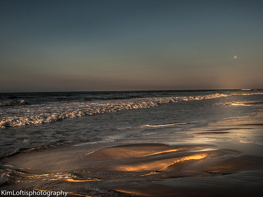 Sand Photograph - touched by the Sun  by Kim Loftis