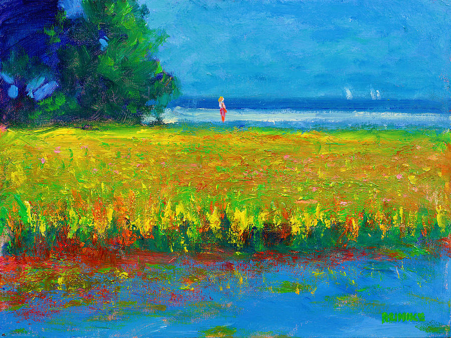 Toward the Beach by Vernon Reinike