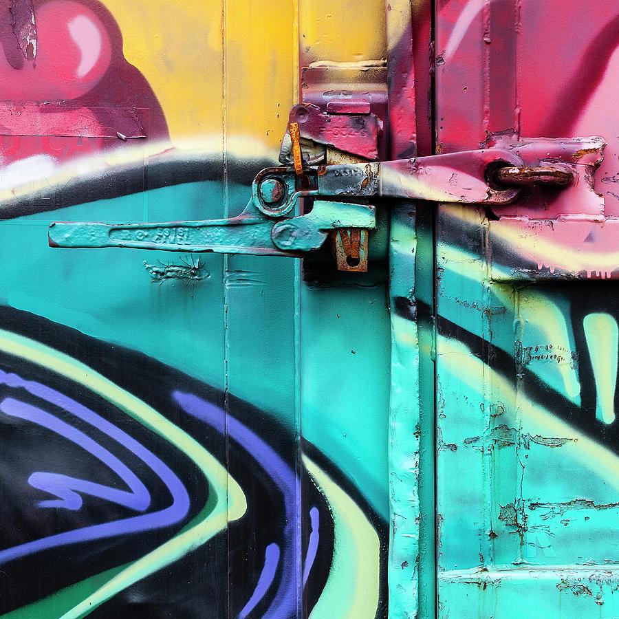 Train Photograph - Train Art Abstract by Carol Leigh