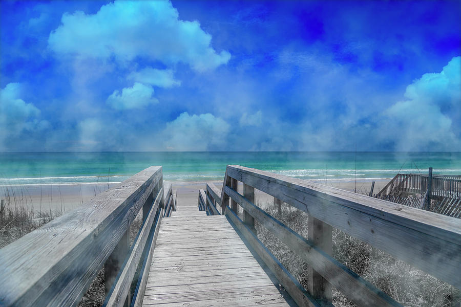 Topsail Photograph - Tranquility by Betsy Knapp