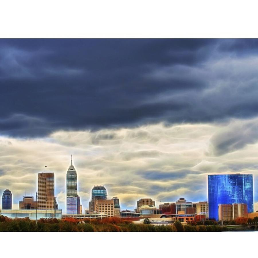 Naptown Photograph - #travel #usa #midwest #indiana by David Haskett II