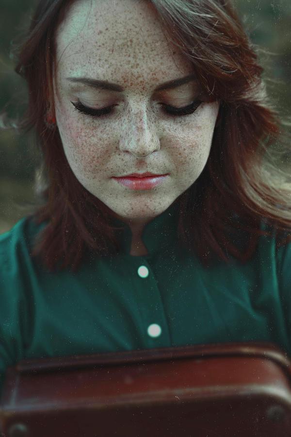 Portrait Photograph - Traveler by Francesca Ciavarella