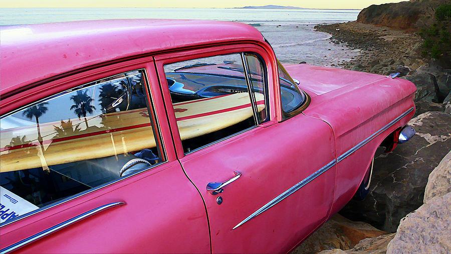 Treasure Photograph - Treasure In The Chevy by Ron Regalado