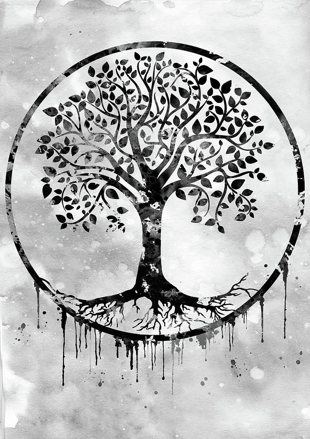 Tree Of Life Black