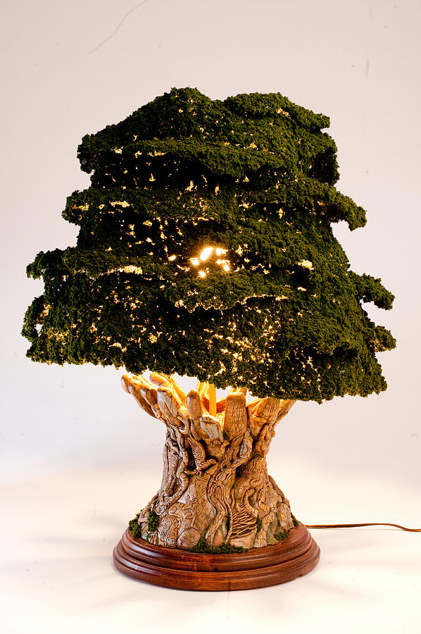 Tree Of Life Lamp Sculpture by Eric Barich