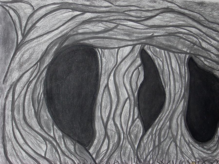 Trees Drawing - Trees by Marsha Ferguson