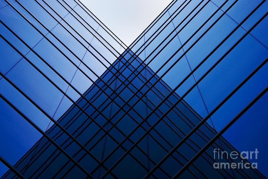 Triangle Photograph - Triangle Reflection by Hideaki Sakurai