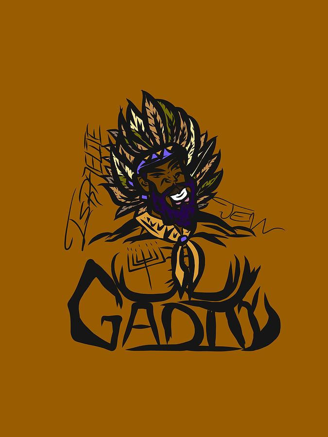 Tribe Drawing - Tribe Of Gad by Robert Watson
