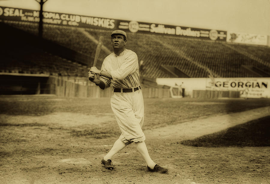 Old Photographs Photograph - Tris Speaker With Boston Red Sox 1912 by Library Of Congress