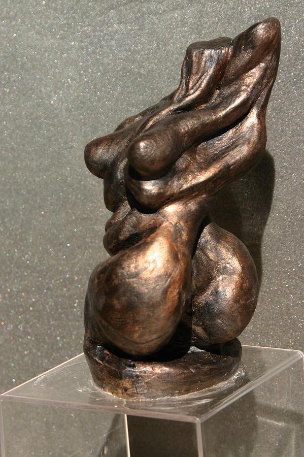 Bronze Sculpture Sculpture - Twist Of Fate The Dancer by Dan Earle