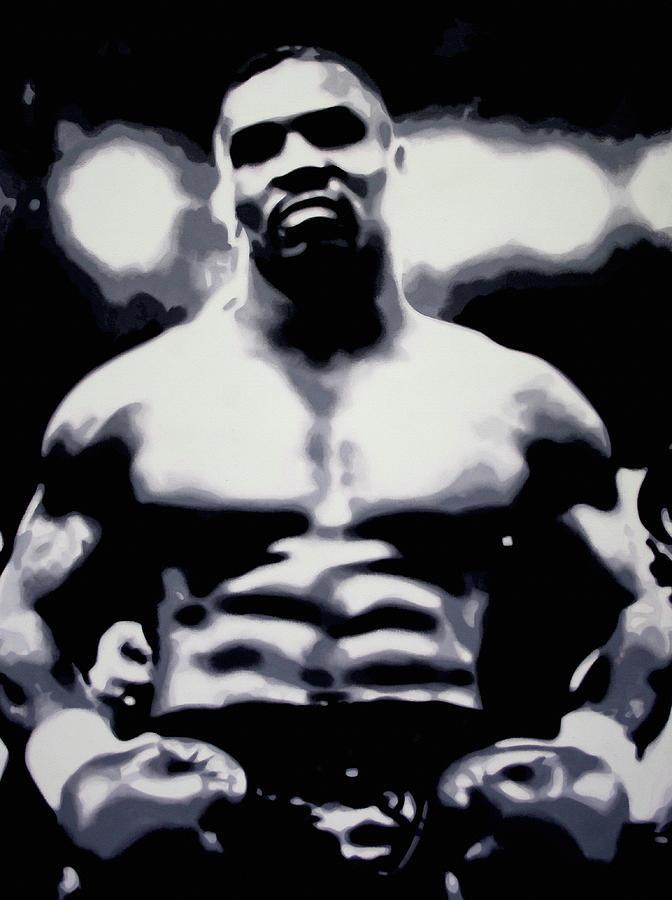 Tyson Painting - Tyson by Luis Ludzska