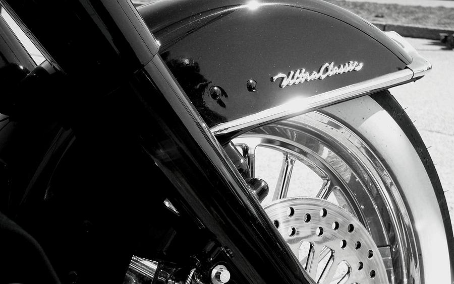 Harley Photograph - Ultra Classic by Kevin D Davis