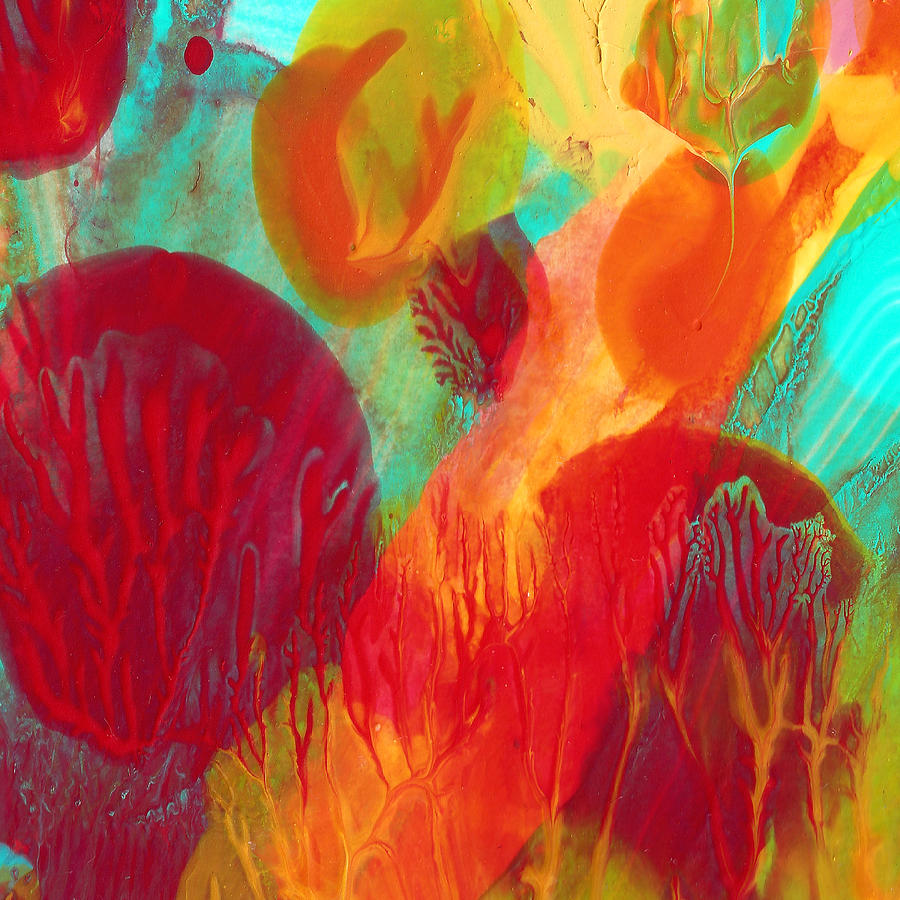 Under The Sea Abstract 2 Painting