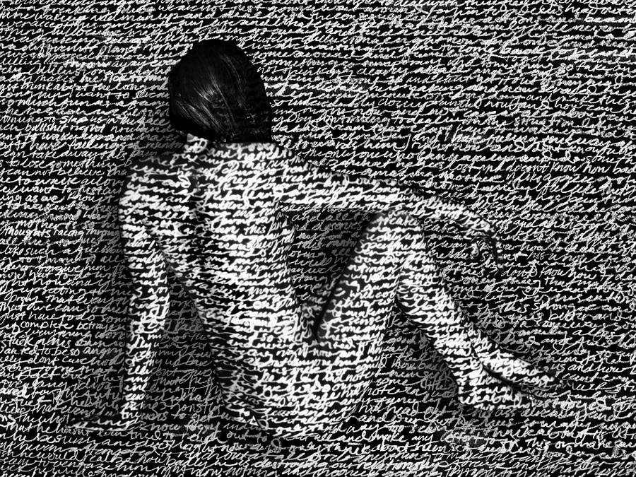Writing Photograph - Unheard by Jessie Herndon