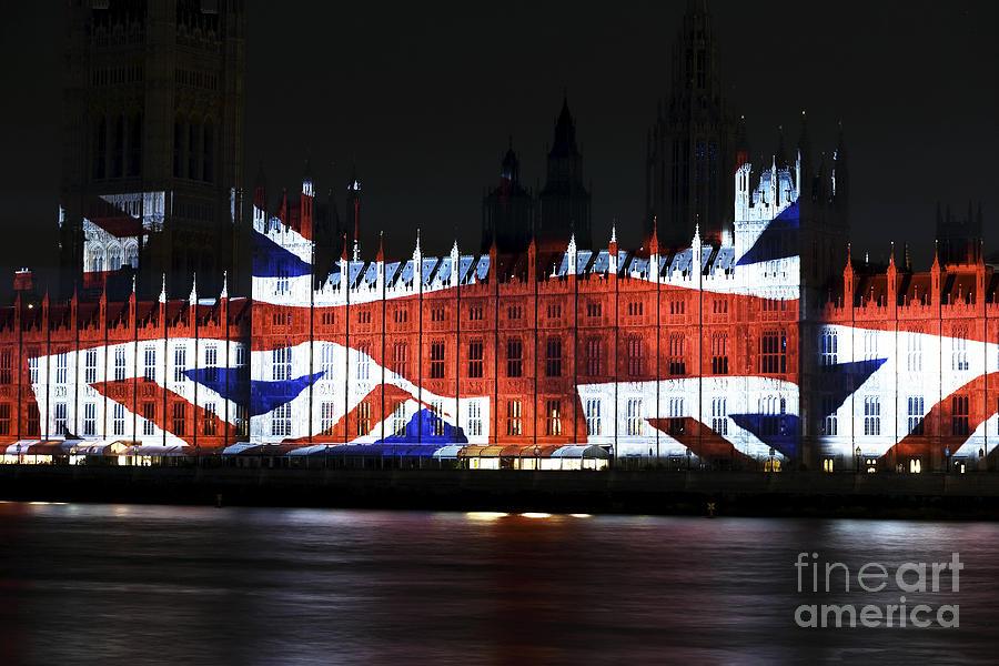 Union Jack Photograph - Union Jack by John Rizzuto