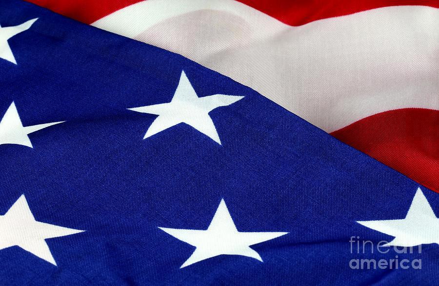Patriotism Photograph - United States Flag by Douglas Sacha