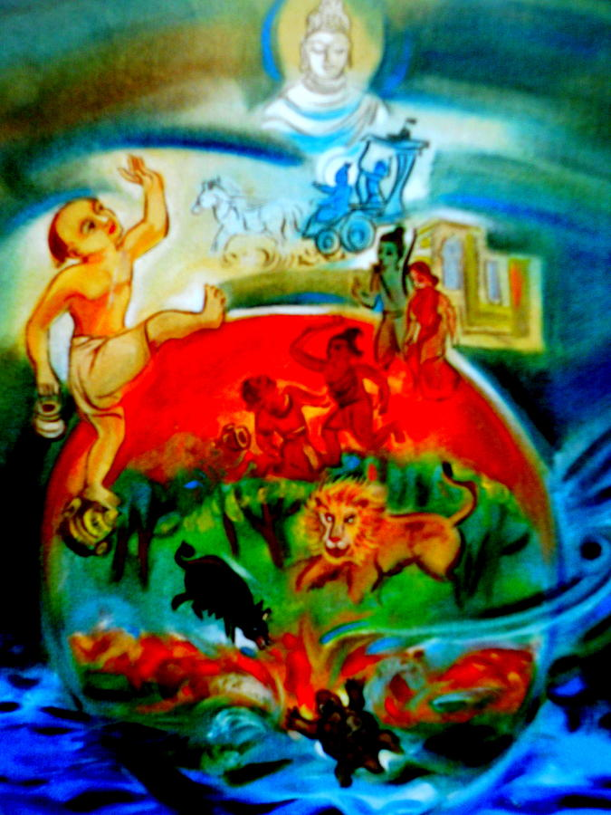 Unity In Diversity Painting by Rupali Motihar