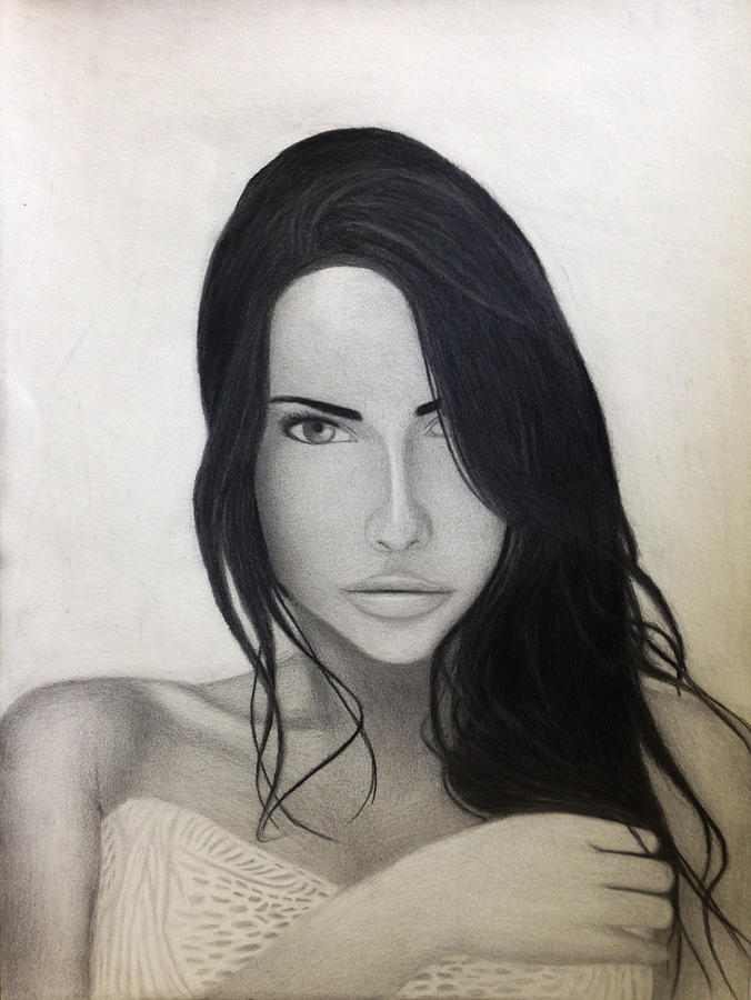 Girl Drawing - Unnamed by Maxwell Hanson