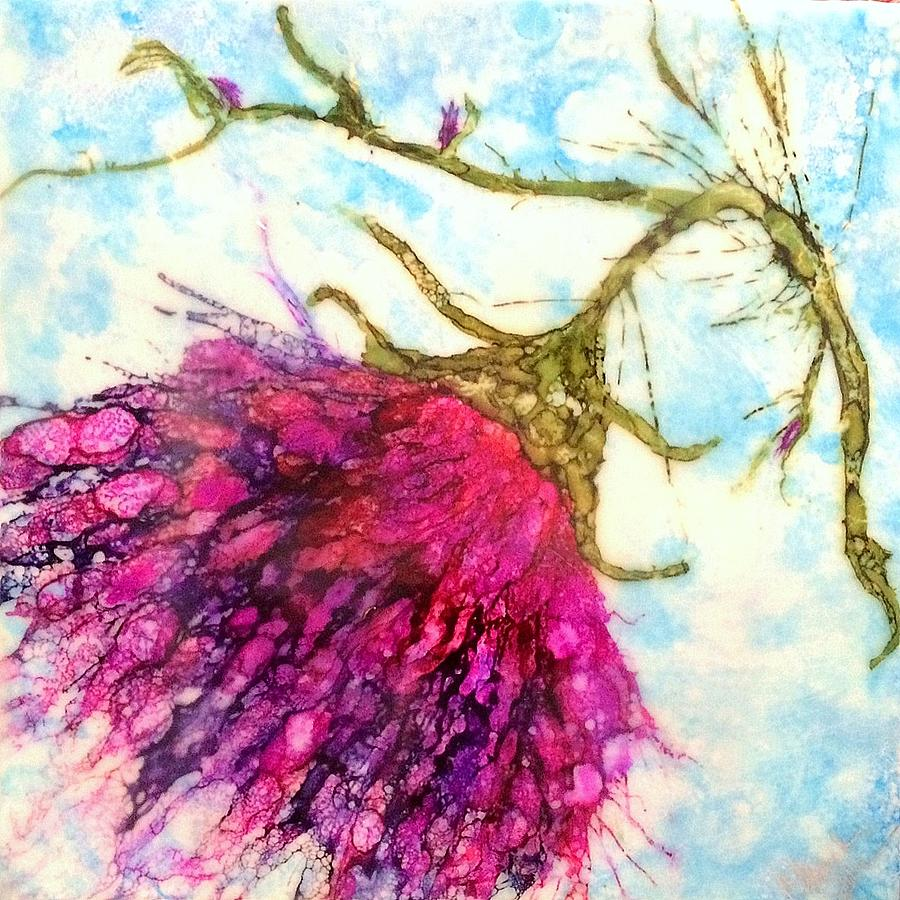 Encaustic Painting - Untitled 2 by Christine Johanns