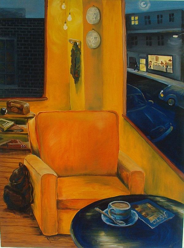 Chair Painting - Untitled 1 by Elisa Davis