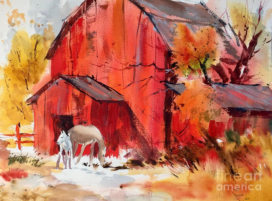 Watercolor Painting - Untitled 1 by John Byram