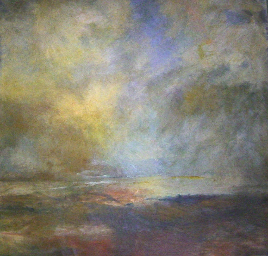 Landscape Painting - Untitled 1 by Marilyn Muller