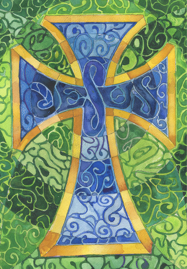 Cross Painting - Untitled by Mark Jennings