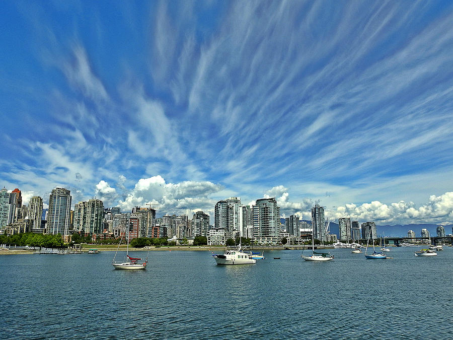 Vancouver Photograph - Vancouver British Columbia by Brian Chase