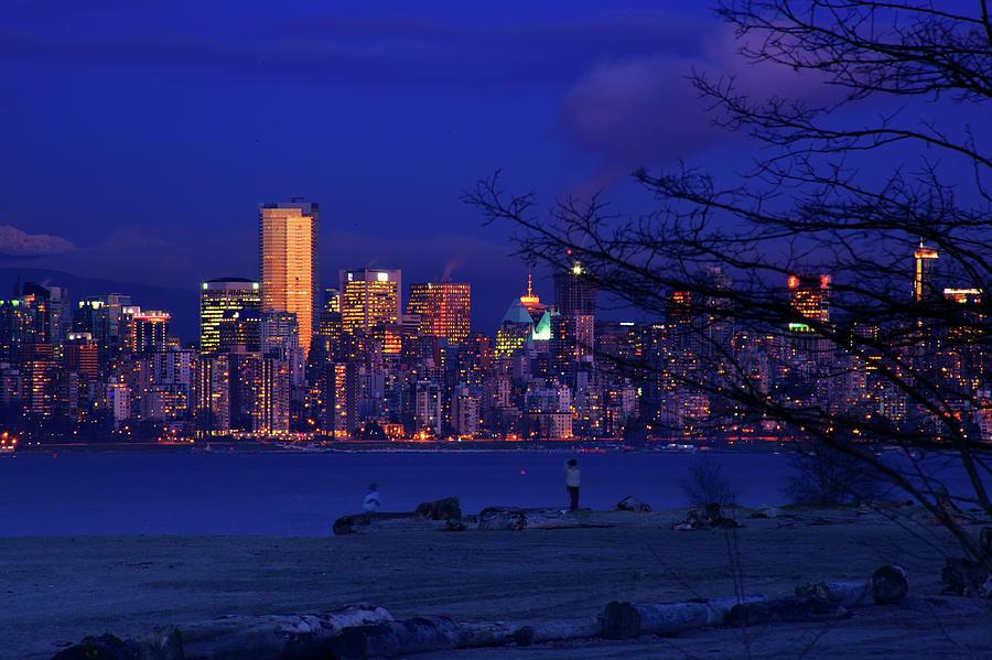Vancouver Photograph - Vancouver Skyline by Paul Kloschinsky
