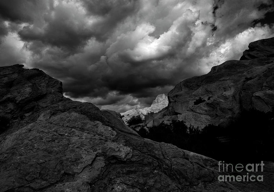 Creative Photograph - Vasquez Rocks by Fitzroy Barrett