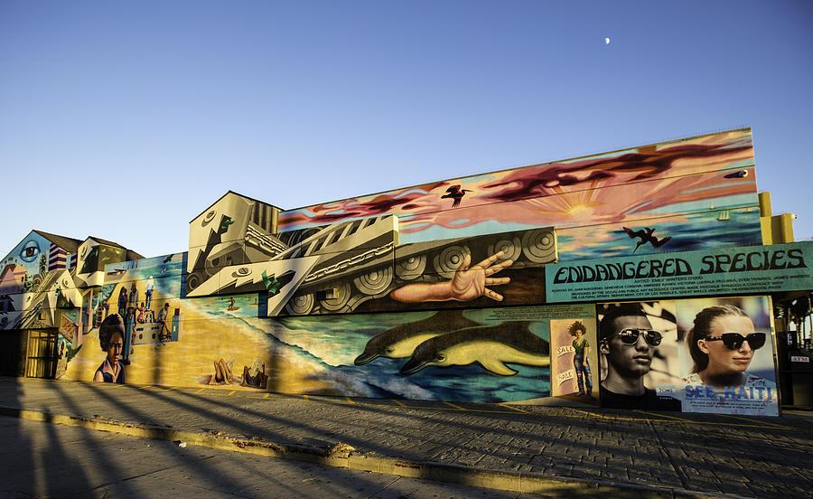 Venice Beach Wall Art Photograph by Chris Cousins