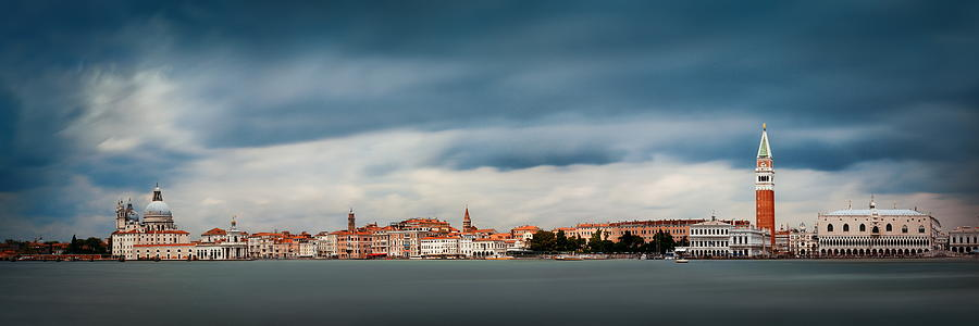 Venice skyline panorama by Songquan Deng