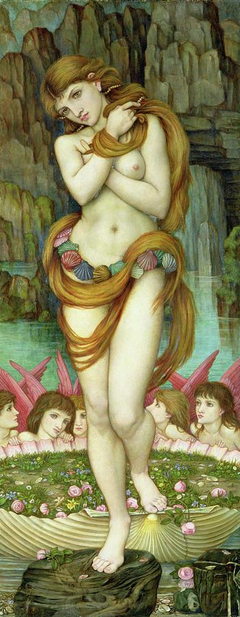 Venus Painting - Venus by John Roddam Spencer Stanhope