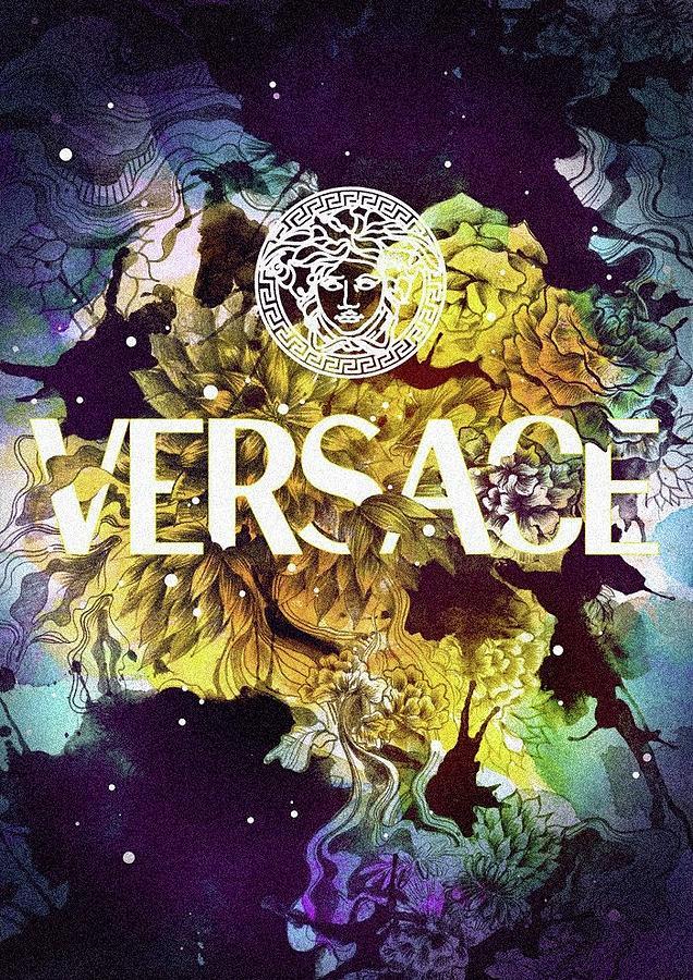 02ad7398 Versace Digital Art - Versace by Aaron De Wulf