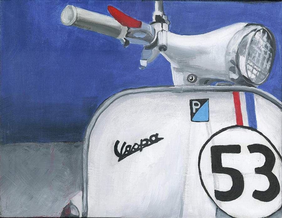 Vespa 53 by Debbie Brown