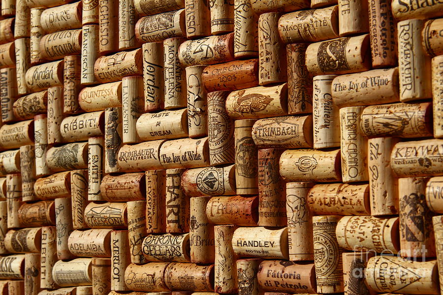 Lux Photograph - Vibrant Wines by Anthony Jones
