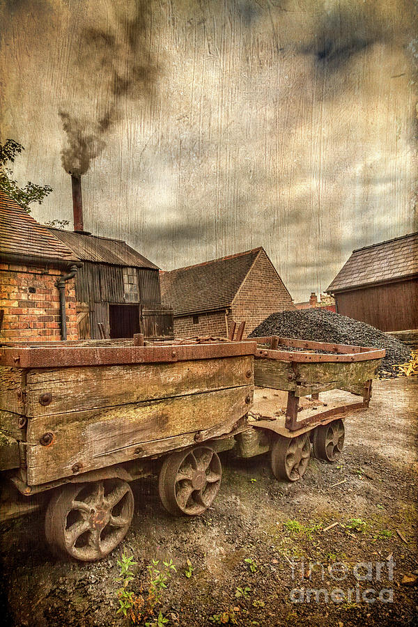 Victorian Photograph - Victorian Colliery by Adrian Evans