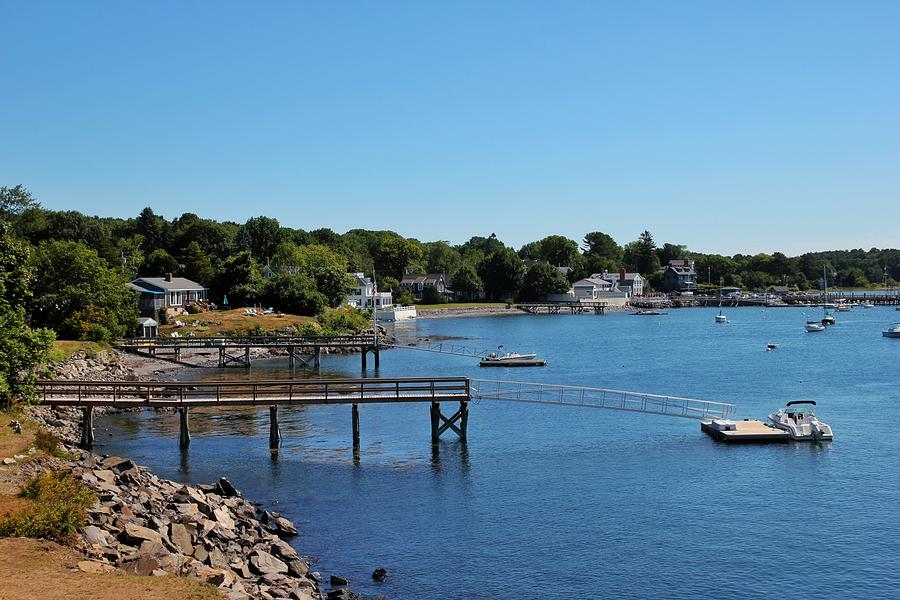View from fort McClary by Luisa Azzolini