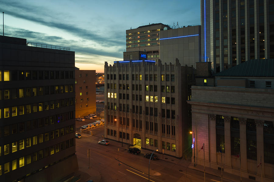 Architecture Photograph - View From The Fairmont by Bryan Scott