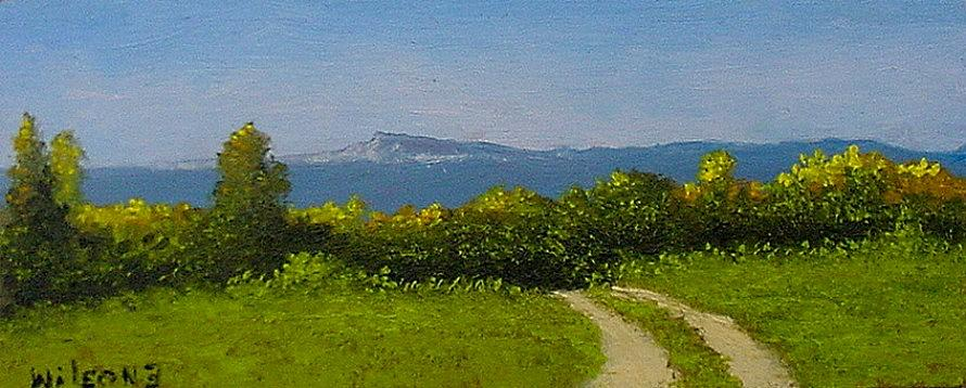 Landscape Painting - View From The Rim by Fred Wilson