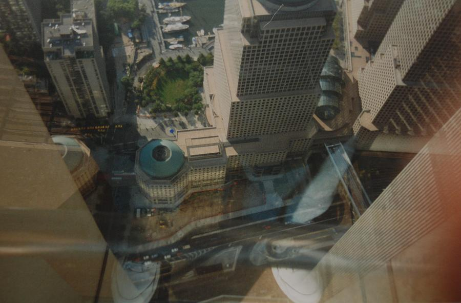 Wtc Photograph - View From The W T C by Rob Hans