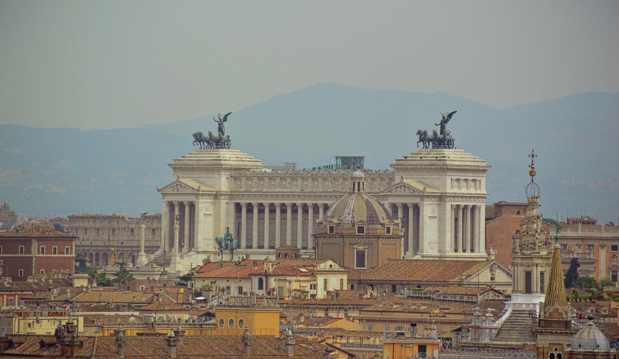 Italy Photograph - View Of Vittoriano by JAMART Photography