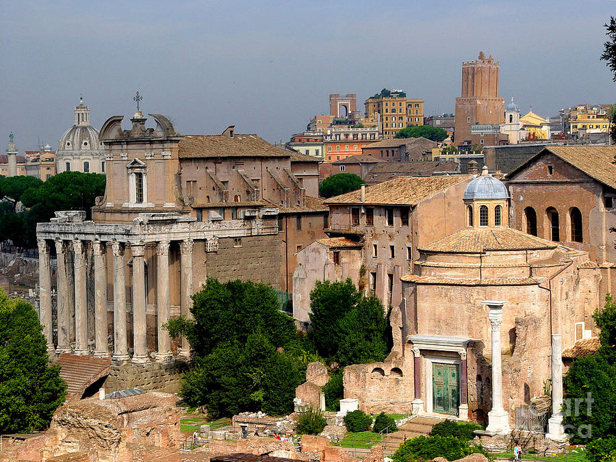 Rome Photograph - Visions Of Rome by Nancy Bradley