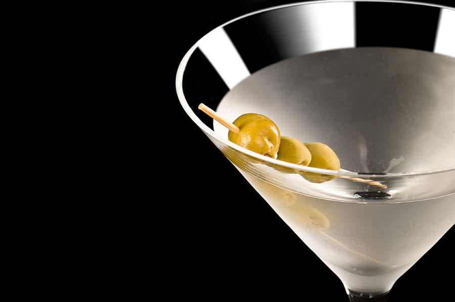 Alcohol Photograph - Vodka Martini by Ulrich Schade