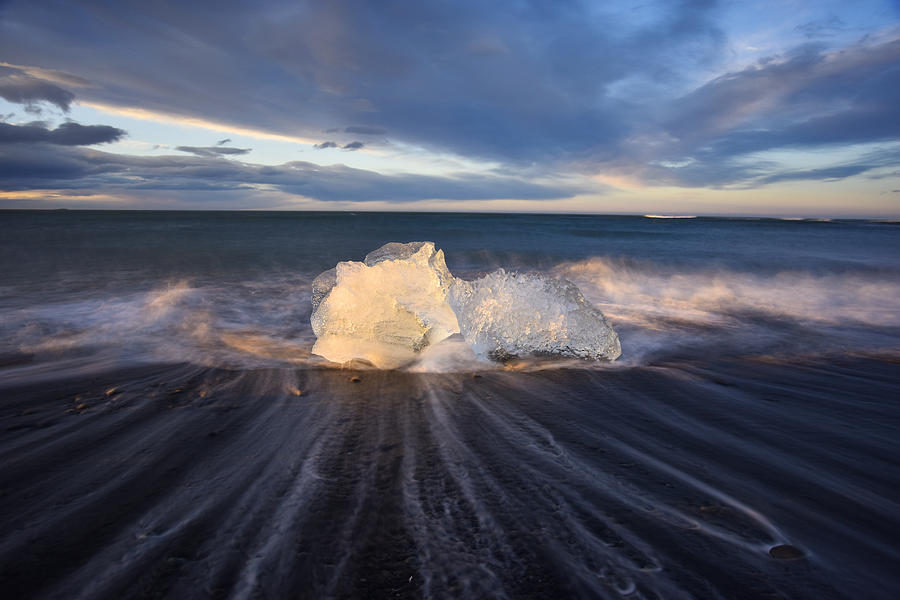 Iceland Photograph - Voices Of Tides by Dustin  LeFevre