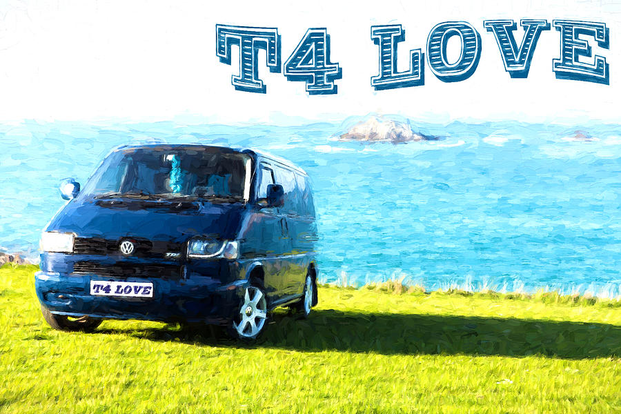 Vw T4 Volkswagen Transporter With Alloy Wheels A Garland And ...