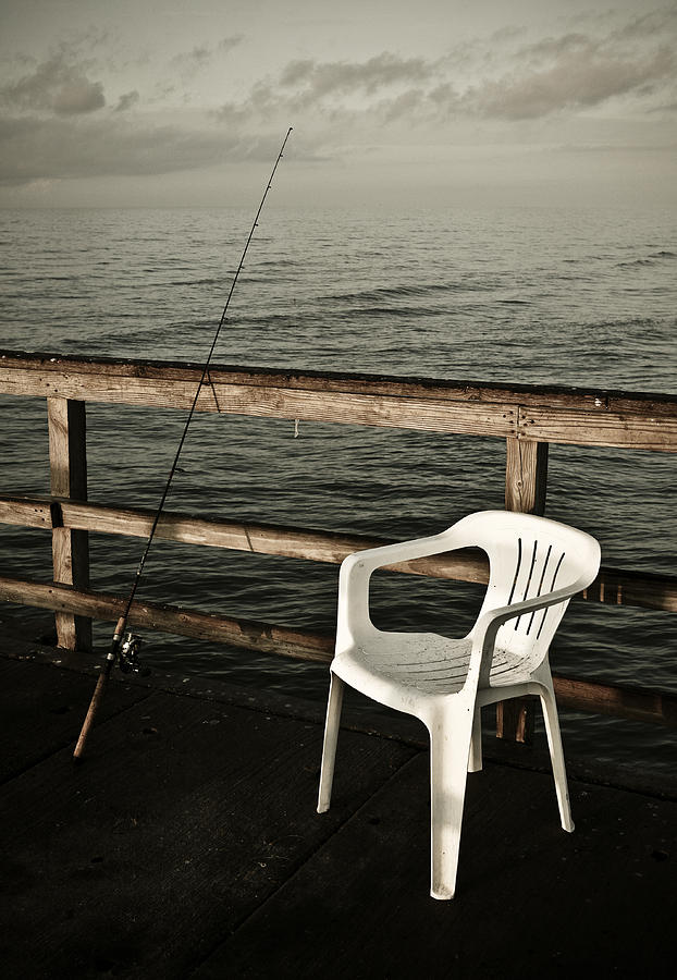 Fish Photograph - Waiting by Marilyn Hunt